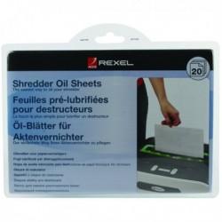 Rexel Non auto oiling Oil Sheets Pk20