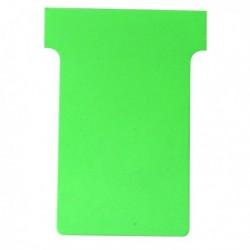 Nobo T-Card Size 2 Lt.Grn Pk100