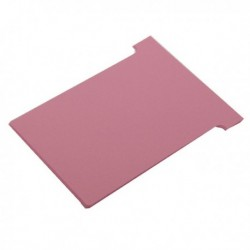 Nobo T-Card Size 2 Pink Pk100