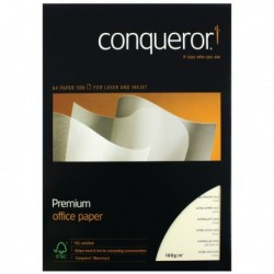 Conqueror CX22 Cream A4 Paper Ream 100gm