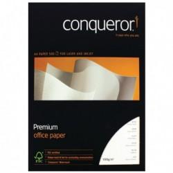 Conqueror Wove White A4 Paper Ream 100gm