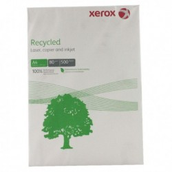 Xerox A4 Recyc White Paper Ream 80gsm