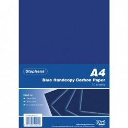 Stephens Blue Hand Carbon Paper Pk100
