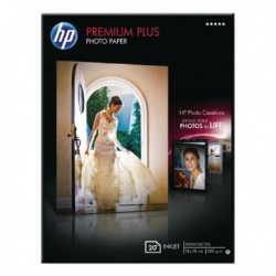 HP Premium Plus 13x18cm Photo Paper P20