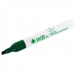 Chisel Tip Green Whiteboard Marker Pk10