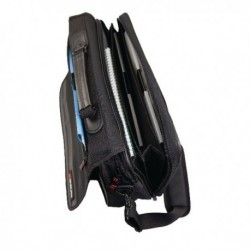 Monolith Expandable Briefcase Black