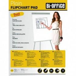 Bi-Office A1 Plain Flipchrt Pads Pk5