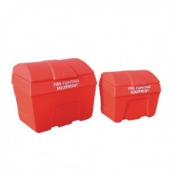 Fire Fighting Bin Store Static 200L Red