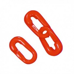Red Connecting Links 8mm Joint Pk10