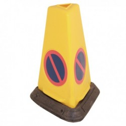 Yellow No Waiting Weighted Cone