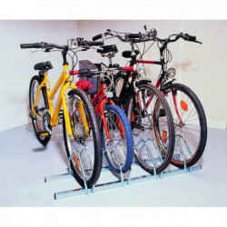 Cycle Rack 3-Bike Capacity Alumin 309715