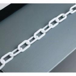 Plastic 8mm White Chain 360077