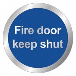 Fire Door Keep Shut RDS15 Sign