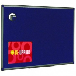 Bi-Office Blu Feltboard 600x450 Alu