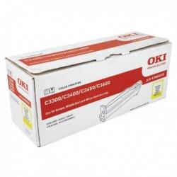 Oki C3300/C3400/C3450 Ylw Drum 43460205