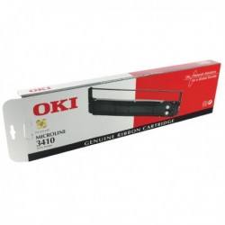 Oki ML3410 Black Fabric Ribbon 4816