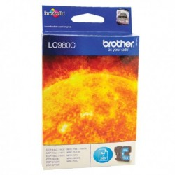 Brother LC980C Cyan Ink Cart LC-980C
