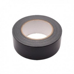 Black 48mm Waterproof Cloth Tape