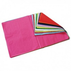 Astd Colour Tissue Paper 520x760mm Pk480
