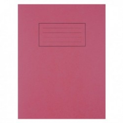 Silvine Red 9x7 Exercise Book Pk10 EX101