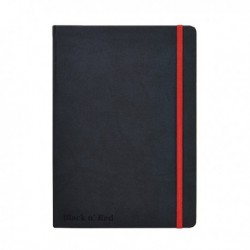 Black n Red Hard Cover Notebook A5