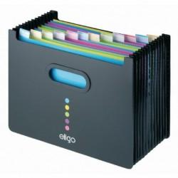 Snopake Eligo 13Pt Desk Expander L/S Bk