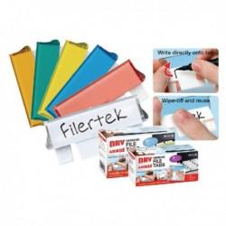 Filertek Dry Erase Susp File Tabs Pk50