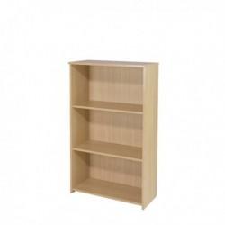 FF Serrion 1200mm Medium Bookcase Maple