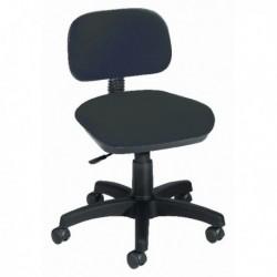 FF Jemini Gas Lift Typist Chair Charcoal