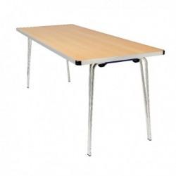 FF Jemini Folding Table 1220 Oak