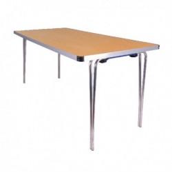 FF Jemini Folding Table 1520 Oak