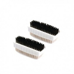 Plastic Nail Brush Twin Pack