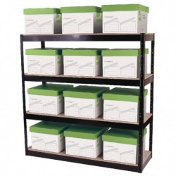 Storage Solutions Boltless 4 Shelf Unit