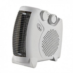 Fan Heater Flat 2kW White