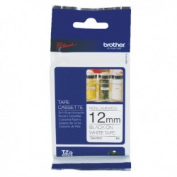 Brother Blk/Wht 12mm TZN231 P-Touch Tape