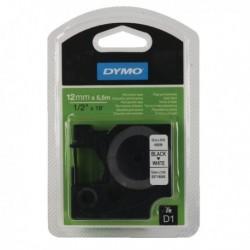 Dymo Blk/Wht D1 Tape 12mmx5.5m S0718060