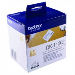 Brother Black/White Shipping Label Pk300