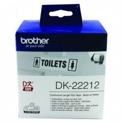 Brother Black/White Cntn Film Tape 62mm