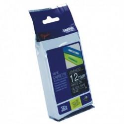 Brother White/Black TZe Tape 12mm TZE335