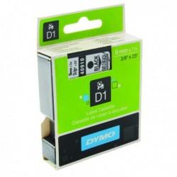 Dymo Blk/Clr 1000/5000 Tape 9mmx7m 40910