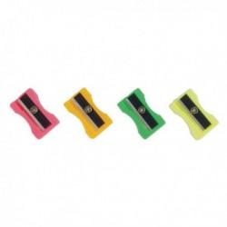 Plastic Sharpeners Pk100 Assorted