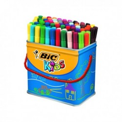 Bic Visa Colouring Pens Drum Pk84