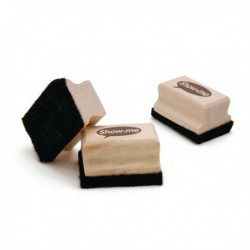 Show-me Mini Felt Eraser Pk30