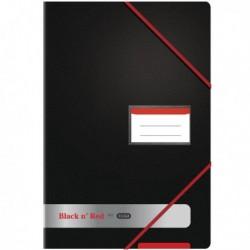 Black n Red Display Book 20 Pocket A4
