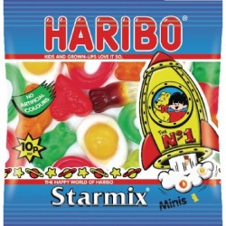 Haribo Starmix Small Bag Pk100 72443