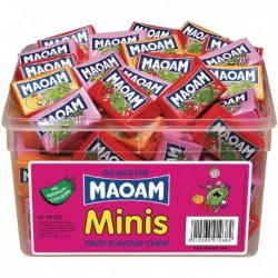 Maoam Minis Chews (Pack of 40) 50542