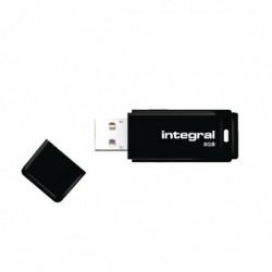 Integral Black USB 8GB Flash Drive