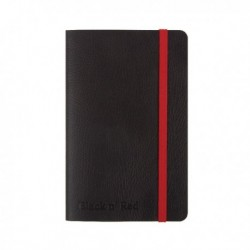 Black n Red Soft Cover Notebook A6