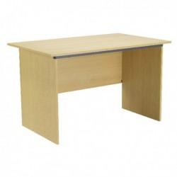 FF Serrion Oak 1000mm Panel End Desk