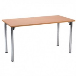 FF Serrion Rect Meeting Room Table Foldin